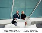 team of professional leaders... | Shutterstock . vector #363712196