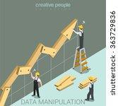Data Manipulation Flat 3d...