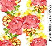abstract elegance seamless... | Shutterstock .eps vector #363749330