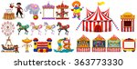 different objects from the... | Shutterstock .eps vector #363773330