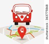 gps service design  | Shutterstock .eps vector #363775868