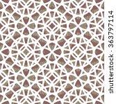 abstract geometric lattice... | Shutterstock .eps vector #363797114