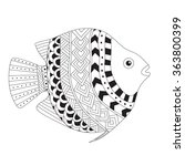 Patterned Vector Exotic Fish In ...
