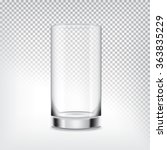 empty glass. mesh with... | Shutterstock .eps vector #363835229