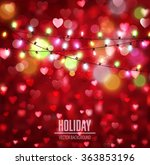 vector festive background for... | Shutterstock .eps vector #363853196