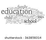 vector concept or conceptual...   Shutterstock .eps vector #363858314