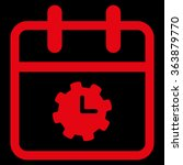 time service day vector icon....