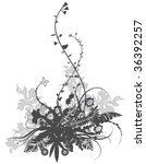 ornament floral pattern | Shutterstock .eps vector #36392257