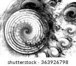 Abstract Wallpaper. Fractal Ar...