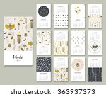 calendar 2016. templates with... | Shutterstock .eps vector #363937373