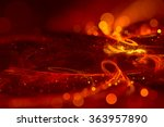 abstract background red bokeh... | Shutterstock . vector #363957890