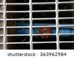 turn off the tap water below  a ... | Shutterstock . vector #363962984