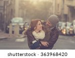 couple in love. | Shutterstock . vector #363968420