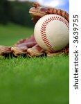baseball glove   Shutterstock . vector #3639755