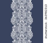 seamless  lace  floral  ...   Shutterstock .eps vector #363982313