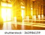 hall in the museum. sunlight.... | Shutterstock . vector #363986159