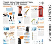 communication and connection... | Shutterstock .eps vector #363987560