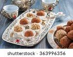 handmade candies flakes  millet ...   Shutterstock . vector #363996356