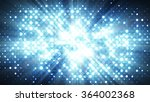 blue lights disco wall.... | Shutterstock . vector #364002368