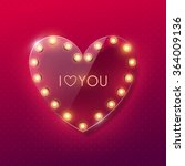 valentines day background | Shutterstock .eps vector #364009136