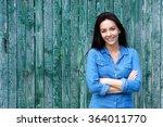 portrait of a confident woman... | Shutterstock . vector #364011770