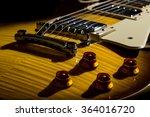 Close Up Electric Guitar...
