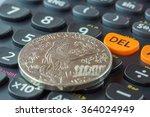 coin and calculator | Shutterstock . vector #364024949