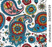 seamless pattern based on... | Shutterstock .eps vector #364034939