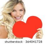 portrait of attractive ... | Shutterstock . vector #364041728