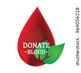 blood donation design | Shutterstock . vector #364056218
