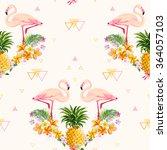 Geometric Pineapple And...