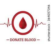 blood donation .medical...   Shutterstock . vector #364057346