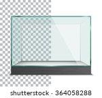 empty showcase. vector... | Shutterstock .eps vector #364058288