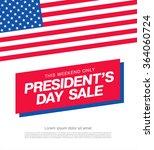 presidents day sale | Shutterstock .eps vector #364060724