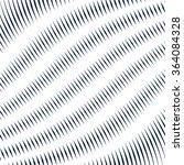 moire pattern  monochrome... | Shutterstock .eps vector #364084328