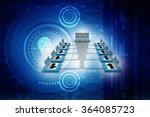 computer network | Shutterstock . vector #364085723