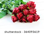 Stock photo rose bouquet 364093619