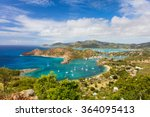 view of english harbor in... | Shutterstock . vector #364095413