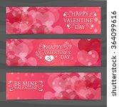 template design of horizontal... | Shutterstock .eps vector #364099616