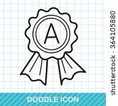 medal doodle | Shutterstock .eps vector #364105880