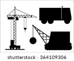 the vector illustration  set of ... | Shutterstock .eps vector #364109306