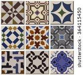 Vintage Retro Ceramic Tile...