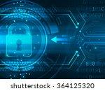 global security service... | Shutterstock .eps vector #364125320