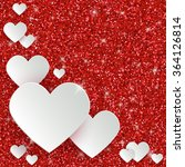 happy valentine s day greeting... | Shutterstock .eps vector #364126814
