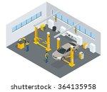 auto mechanic service. service...   Shutterstock .eps vector #364135958