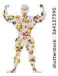 illustration of abstract... | Shutterstock .eps vector #364137590