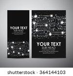 abstract lights technology... | Shutterstock .eps vector #364144103