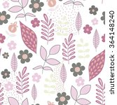 vector seamless pattern with... | Shutterstock .eps vector #364148240