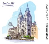 panorama of the british natural ...   Shutterstock .eps vector #364149290