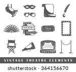 collection vector elements for... | Shutterstock .eps vector #364156670